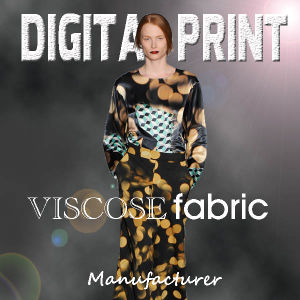 Perfection Design Digital Printed Viscose Fabric pictures & photos
