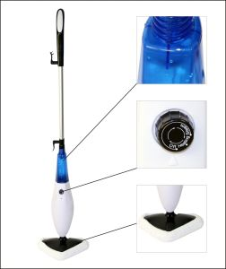 Bare Floor Professional Steam Mop with LED (KB-Q1407) pictures & photos