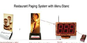 Simple Wireless Waiter Table Call System for Restaurant or Cofee Shop
