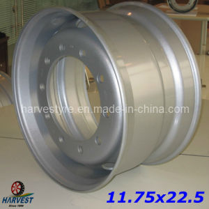 11.75X22.5 Steel Wheels for Truck Tyres pictures & photos