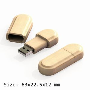 USB Flash Drive with Wooden Shell (UF157)