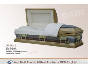 American Style Metal Coffin (18259047) pictures & photos