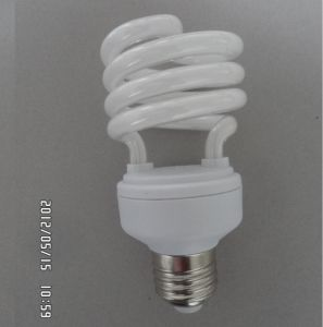 Half Spiral Energy Saving Lamp (15-18W) pictures & photos
