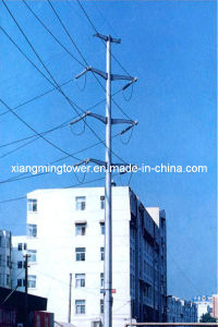 Electric Power Transmission Galvanized Steel Antenna Monopole Tower