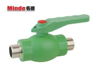 PPR Ball Valve with Brass Ball -Brass Threaded pictures & photos