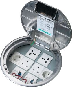 Access Floor Socket Electrial Outlets Boxes pictures & photos