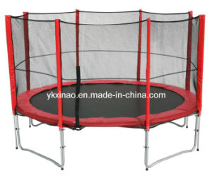 12ft Large Trampoline with Enclosure (XA1034)