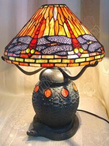 Tiffany Table Lamp With Lighting Metal Snail Base (TLS122-16) pictures & photos
