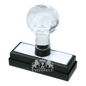 Crystal Handle Flash Stamps 16*60mm pictures & photos