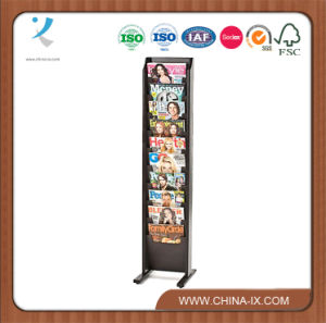 10-Tiered Magazine Rack for Floor for Wall pictures & photos