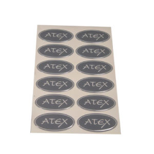 Epoxy Label/Epoxy Sticker Dome Sticker Metal Epoxy Sticker/Label, Printing Custom Epoxy Sticker, Transparent Custom Epoxy pictures & photos