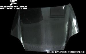 Carbon Fiber Hood for Hyundai Tiburon