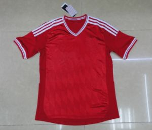 Free Shipping Red Away Soccer Jersey Player Version Football Jersey 2013 New Arrival Thai Quality Jersey pictures & photos