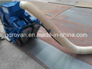 Mobile Steel Plate Surface Cleaning Sand Abrator