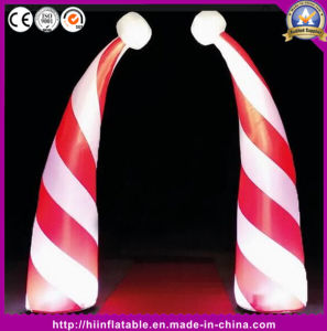 Inflatable Cone Lighting Inflatable Candy Cone for Christmas Decoration