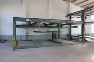 Vertical and Horizontal Car Parking System with CE