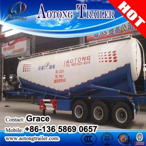 Bulk Cement Tank Semi Trailer, Bulk Cement Tanker, Cement Bulk Carriers, Bulk Cement Transport Truck, Cement Bulker Compressor, Bulk Cement Trailer for Sale pictures & photos