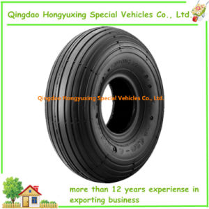 4.00-6 Wheel Barrow Tyre with Rib Pattern