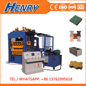 Qt4-15 Fully Automatic Hydraulic Concrete Block Paver Brick Making Machine Price in Kenya pictures & photos