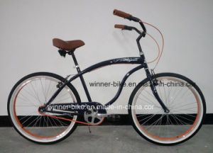Mens Single Speed 26′′ Beach Cruiser Bicycle pictures & photos