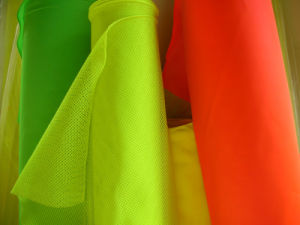 EN 471 Fabric Material for Safety Vest and Occupational Workwear(DSCN0349)
