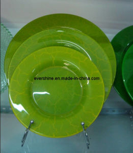 Handmade Glass Plate Set