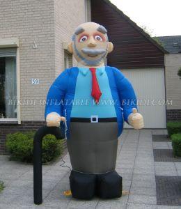 Inflatable Holland Carton Abraham Balloon Doll (K9007) pictures & photos