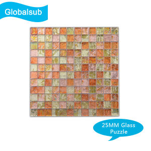 Sublimation Glass Puzzle of Heat Press Blanks Hot Sales pictures & photos