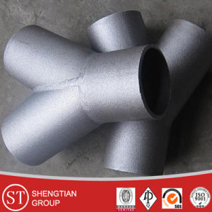 Carbon Seamless Pipe Fitting Tee pictures & photos
