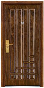 MDF Exterior Armored Steel Wooden Door (FXGM-C319) pictures & photos