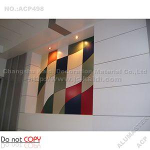 Interior PE Aluminium Composite Panel (ACP498)