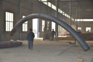90deg Bend Pipe Long Radius Long Tangent Buttweld ANSI Wcb pictures & photos