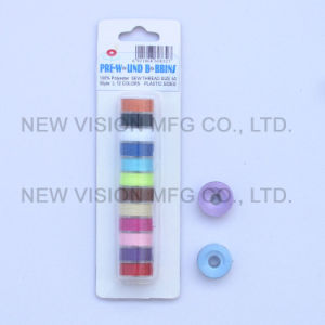 Plastic Sides Embroidery Prewound Bobbin pictures & photos