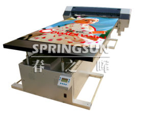 Digital Flatbed Printer With Eco-Solvent Ink
