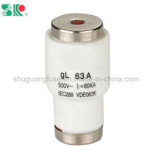 Screw Type Low Voltage Bottle Fuse 63A Gl pictures & photos