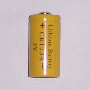 3V Cr123A Half-Sealed Lithium Battery pictures & photos