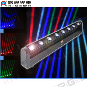 Factory Wholesale 10W 8PCS Moving Head LED Washer Light Bar pictures & photos