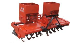 Rotary Tillage Ridging Fertilizer Agriculture Machine