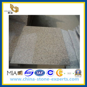 Chinese Sunset Gold Shijing Granite Tiles for Flooring & Wall G682 pictures & photos