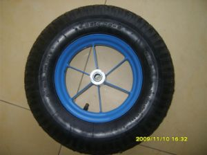 Rubber Wheel (400-8, 350-8) pictures & photos