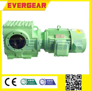 S Worm Right Angle Helical Gearbox pictures & photos