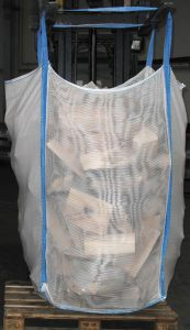 Ventilated Mesh Firewood and Pellets Bulk Bag pictures & photos