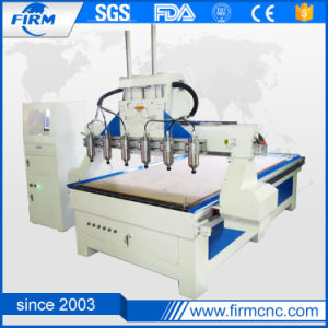 New Multi-Head Woodworking CNC Engraving Machinery pictures & photos