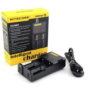 Nitecore I2 Digicharger Li-ion Ni-MH Battery Charger, Dual USB Car Charger pictures & photos