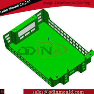 Bread Crate Injection Mould (cold runner) pictures & photos