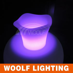 Cheap New Personalized LED Beer Ice Buckets pictures & photos