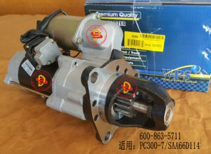 Start Motor for Komatsu Engine Part (600-863-5711) pictures & photos