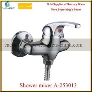 Brass Single Handle Shower Mixer pictures & photos