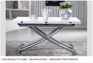New Design Functional High Glossy MDF Lacquer Tea Table pictures & photos