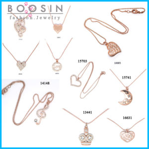 "200PCS/Lot 24"" Fashion Female Gold Necklace Set Wholesale pictures & photos"